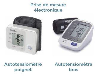 autotensiomètre-poignet-bras-prise-mesure-électrique